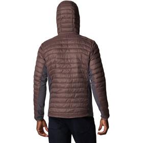 Columbia Powder Pass Hooded Jacket Men basalt/timber